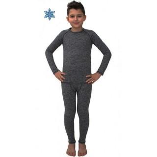 Термобелье детское FirePower Polarflis-Stretch Melange (28) Серое