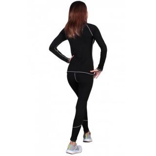 Термобелье  женское FirePower Sport Polarflis-Stretch (L)  Черное с белым