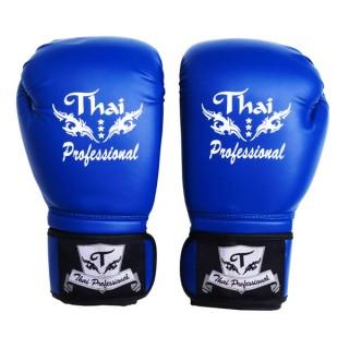 Боксерские перчатки Thai Professional BG3 (12oz) Синие