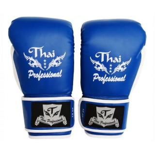 Боксерские перчатки Thai Professional BG8 (10oz) Синие