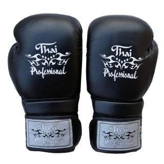 Боксерские перчатки Thai Professional BG3 NEW(10oz) Черные