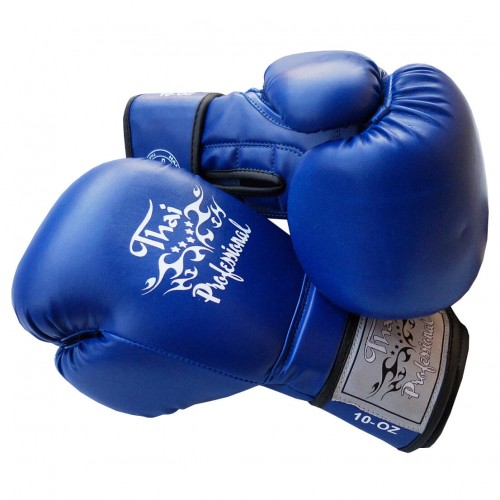 Боксерские перчатки Thai Professional BG3 NEW(10oz) Синие