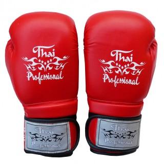 Боксерские перчатки Thai Professional BG3 NEW(10oz) Красные