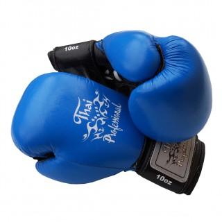 Боксерские перчатки Thai Professional BG5VL (10oz) Синие