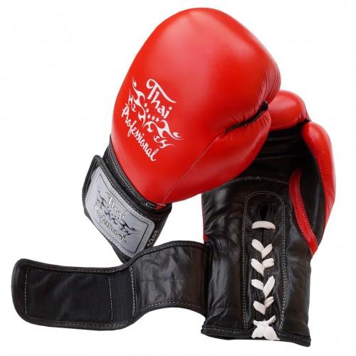 Боксерские перчатки Thai Professional BG5VL (10oz) Красные