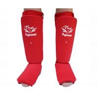 Защита голени и стопы (Чулки) Thai Professional SG5 (M) Красная