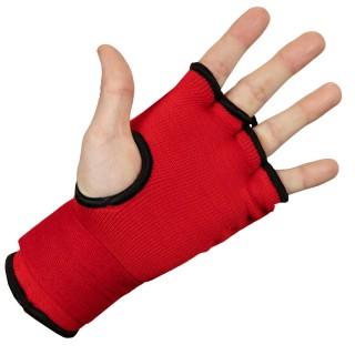 Бинт-перчатки TITLE Boxing Attack Nitro Speed Wraps Красные (L)