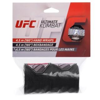 Бинти боксерські еластичні UFC Contender UHK-69760 4,5 Чорний