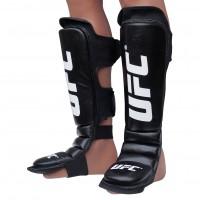 Защита голени (Щитки) UFC Essential CL (XL) Черные